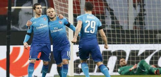 Fotbalisté Arsenalu mají dobrou výchozí pozici do odvety.