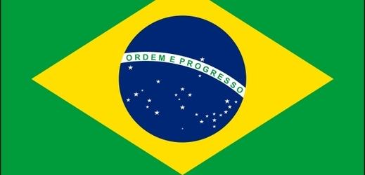Brazilská vlajka.