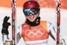 Ester Ledecká zvládla svou zlatou jízdu s prasklinou na lyžařské botě.