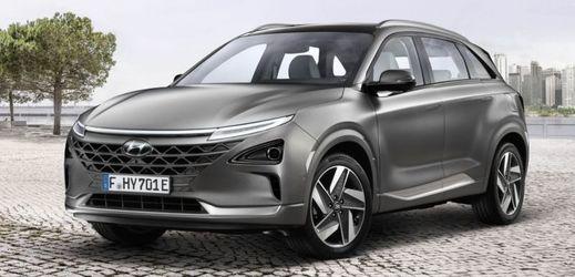 Hyundai Nexo jezdí na vodík.
