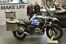 Motocykl BMW.