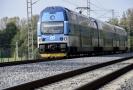 V Praze vzniknou dvě nové zastávky i čtyřkolejný úsek tratě (ilustrační foto).
