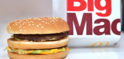 Hamburger Big Mac.