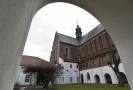 Rajská zahrada baziliky Nanebevzetí Panny Marie v Brně.