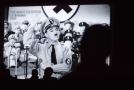 Charlie Chaplin ve filmu Diktátor.