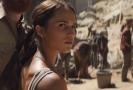 Snímek z filmu Tomb Raider.