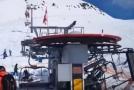 Incident v gruzínském skiareálu Gudauri.