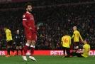 Salah čtyřmi góly pomohl Liverpoolu deklasovat Watford¨.