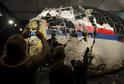 Sestřelené letadlo MH17.