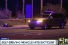 Samořízené auto poprvé zabilo člověka. Uber přerušila testy.