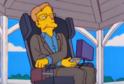 Stephen Hawking v seriálu Simpsonovi.