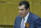 Zastupitel Leonid Sluckij.