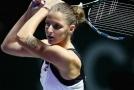 Karolína Plíšková svůj zápas nakonec zvládla.