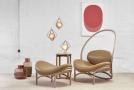 Lounge křeslo Chips české designérky Lucie Koldové.