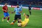 Pavlenka fauloval Suaréze, ten ho vzápětí překonal z penalty.