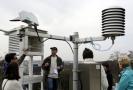 Meteorologická stanice (ilustrační foto).