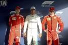 První kvalifikaci sezóny vyhrál Hamilton, za ním dva jezdci Ferrari