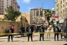 Výbuch bomby v Alexandrii usmrtil policistu, čtyři lidé zraněni (ilustrační foto).