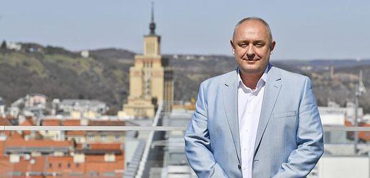 Architekt Michal Postránecký.