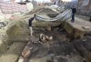 Archeologové našli v Uherském Brodě suterény středověkých domů.