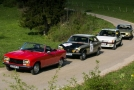 Pro historické vozy Peugeot je připravena řada jízd.