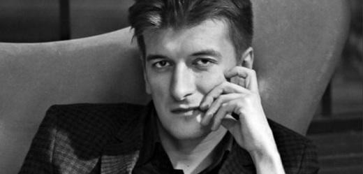 Novinář Maxim Borodin.
