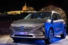 Poprvé v ČR byl k vidění vodíkový elektromobil Hyundai Nexo.