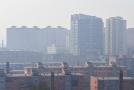 Znečištěné ovzduší v Číně.