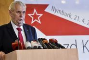 """""""Ošklivá splátka! Mrazivé gesto!"""" Zeman tepán za účast na sjezdu KSČM"""