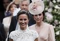 Pippa Middletonová a vévodkyně z Cambridge Kate Middletonová (vpravo).