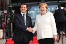 Mexický prezident Enrique Peňa Nieto a německá kancléřka Angela Merkelová.