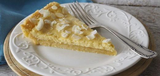Bezlepkový limetkový koláč.