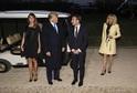 Americký prezident Donald Trump (vlevo) přivítal ve Washingtonově rezidenci francouzskou hlavu státu Emmanuela Macrona.
