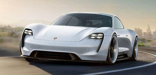 V Pekingu se ukáže také studie Porsche Mission E  s elektrickým pohonem.