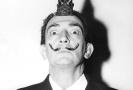Malíř Salvador Dalí.