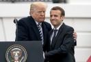 Americký prezident Donald Trump (vlevo) a francouzský prezident Emmanuel Macron.