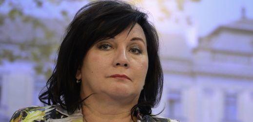 Ministryně financí Alena Schillerová žije z podstaty.