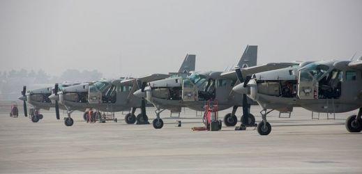 Afghánské letectvo.