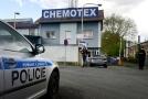 Nehoda s únikem fenolu se stala v děčínské chemičce Chemotex.