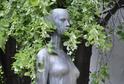 Vedle soch Panny Marie a světic má v Brně pomník jediná žena - Marie Kudeříková, mladá odbojářka popravená nacisty (na snímku).