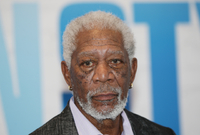 Hollywoodský herec Morgan Freeman.