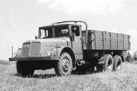 Tatra 111, první nákladní automobil z kopřivnické produkce, který si získal světové renomé.