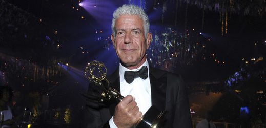 Šéfkuchař Anthony Bourdain.