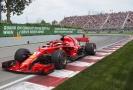 Sebastian Vettel během VC Kanady.