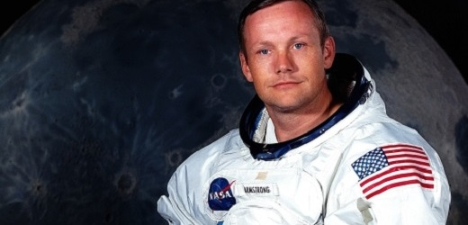 Astronaut Neil Armstrong.