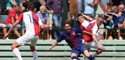 Mladí slávisté Barcelonu porazili 1:0.