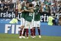 Mexičané se náležitě radovali po výhře nad Německem.