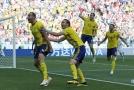 Švédsko porazilo Koreu 1:0.