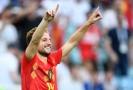 Dries Mertens vstřelil vítězný gól utkání, když se prosadil krásným volejem.
