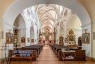 Děkanský kostel Všech svatých v Litoměřicích.